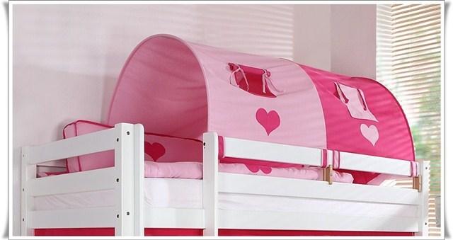 tunnel gro f r spielbett hochbett oder etagenbett princess mystylewood24 m bel. Black Bedroom Furniture Sets. Home Design Ideas