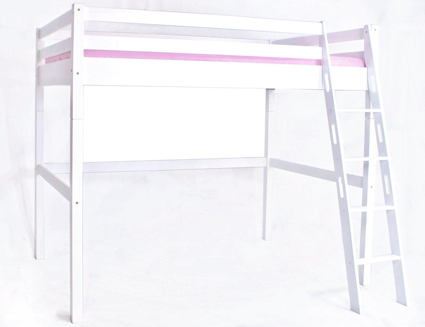 hochbett 140 200 wei ebenbild das wirklich faszinierend. Black Bedroom Furniture Sets. Home Design Ideas