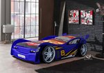 Autobett Night Racer Blau